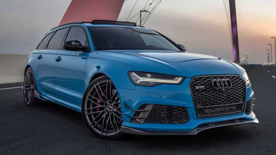 Fully customised Audi RS6 is what estate dreams are made of