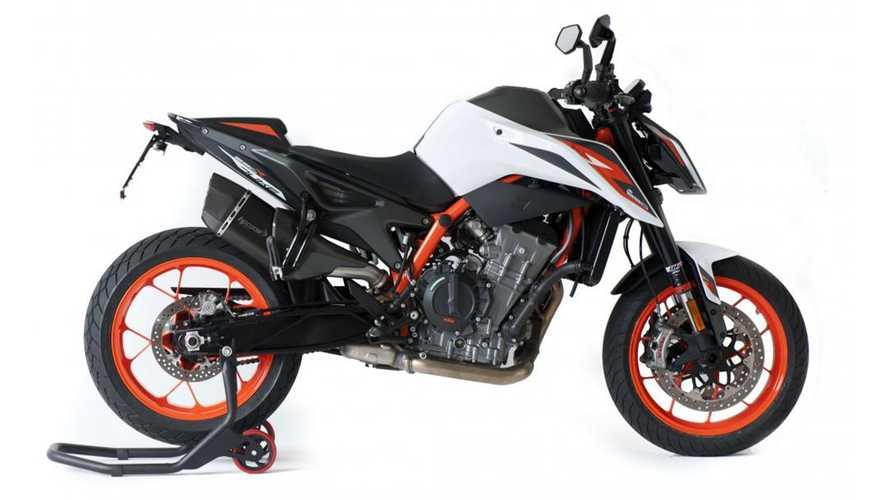 HP Corse Releases Two New KTM 890 Duke R Exhausts