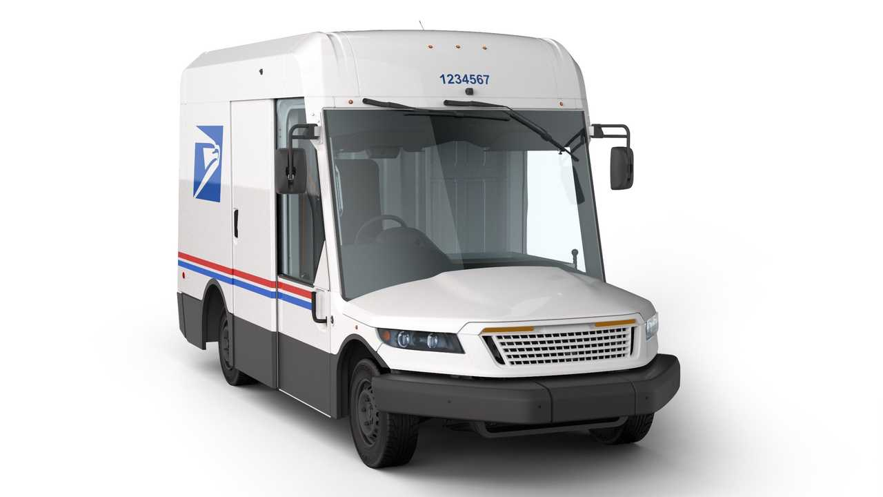 Oshkosh Defense US Postal Service Delivery Truck