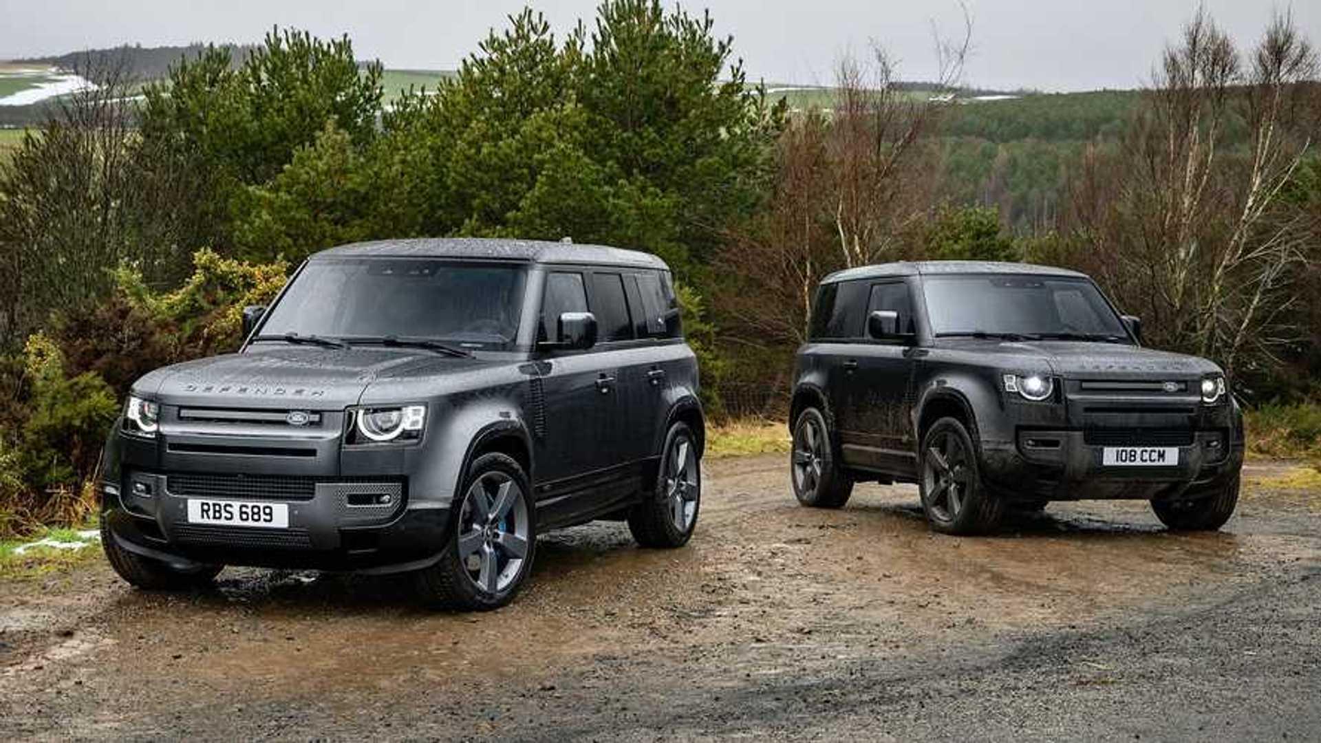 2022 Land Rover Defender V8 дебютирует с невероятной мощностью