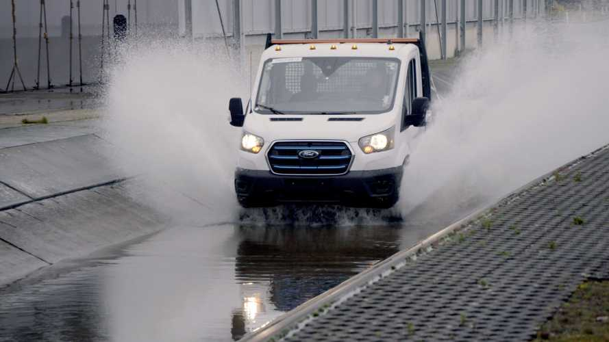 Watch Ford E-Transit undergo lifetime's worth of 'torture tests' in UK