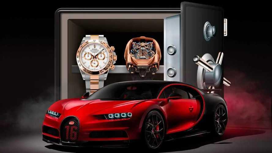 Auto e orologi, ecco quelli da tenere in cassaforte