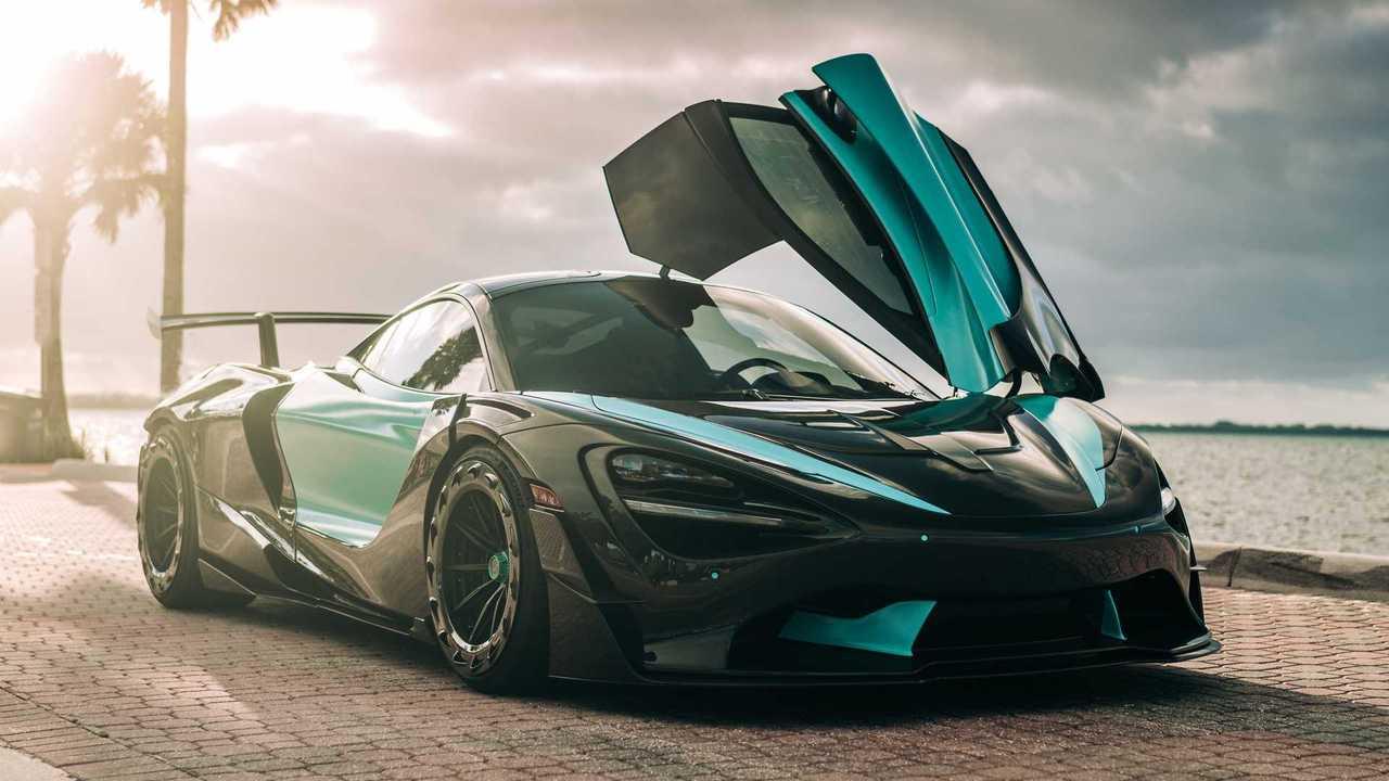 3D yazıcı teknolojisiyle modifiye edilmiş McLaren 720S
