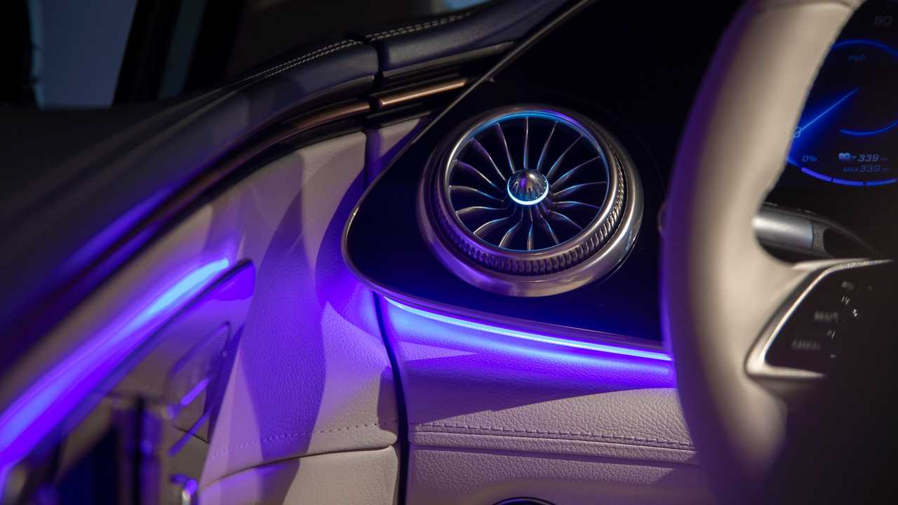 2022 Mercedes-Benz EQS 450 Interior Floating Details