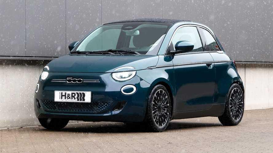 H&R Fiat 500e Cabrio