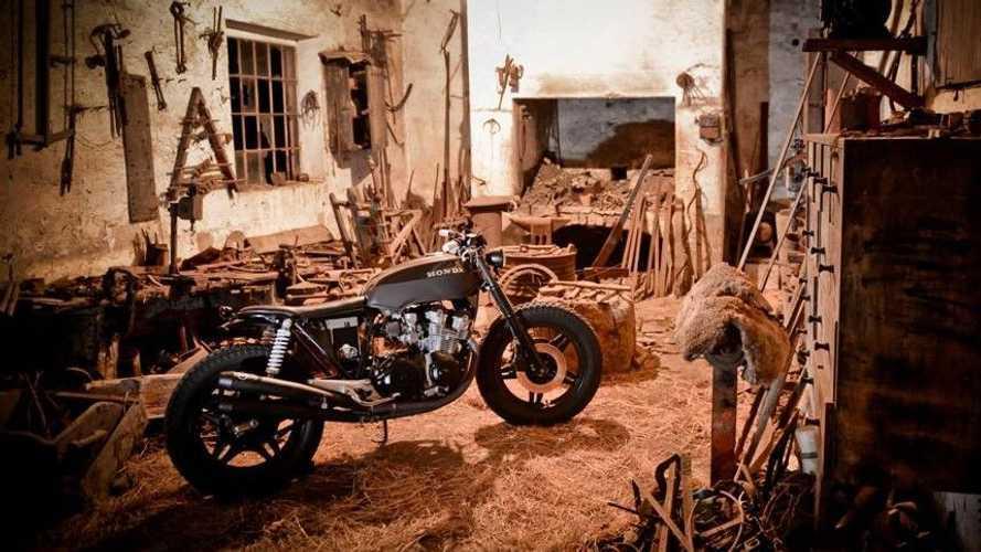 Dark Brownie: 1983 Honda CB750K