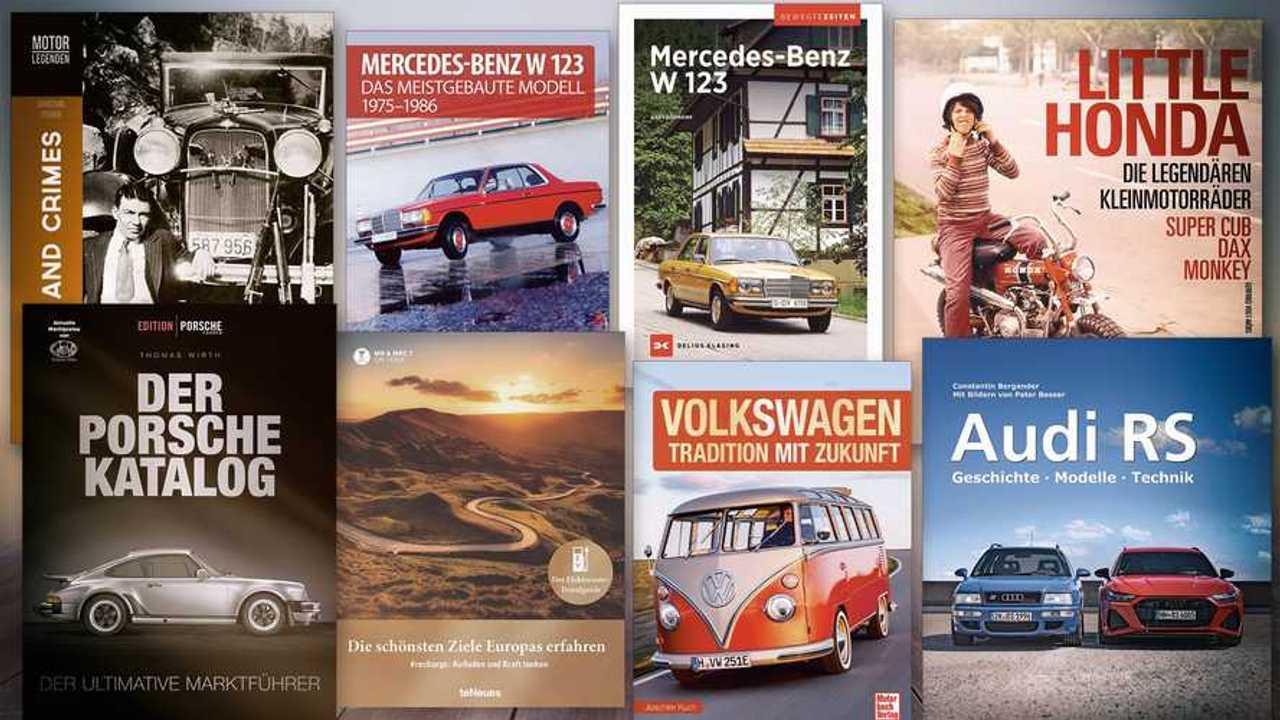 Neue Bücher zum Thema Auto und Motorrad (Frühjahr 2021)