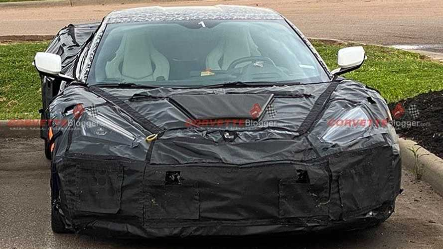 Chevrolet Corvette Z06, ZR1 prototypes spied