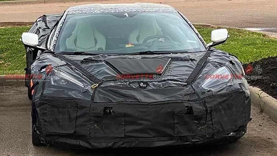 Chevrolet Corvette Z06 ve ZR1 Casus Fotoğraflar
