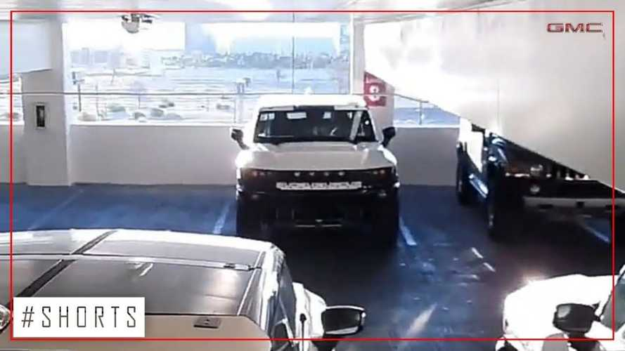 Check Out These GMC Hummer EV Pickup Trucks Spotted In Las Vegas