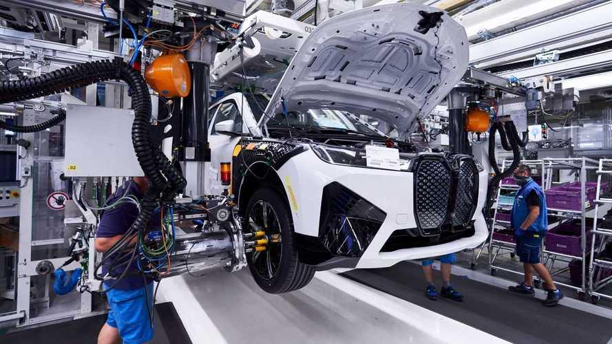 BMW iX Enters Production At The Dingolfing Plant