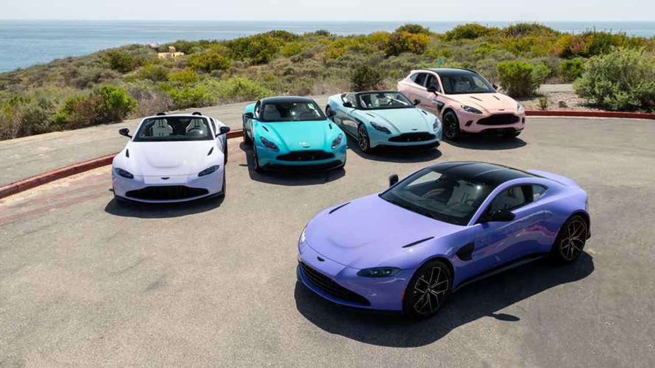 Collezione Aston Martin Pastel Insieme Sopra