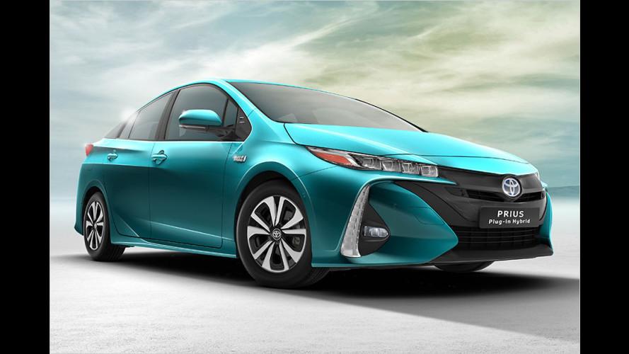 Neuer Toyota Prius Plug-in Hybrid (2016): Verdoppelte Reichweite