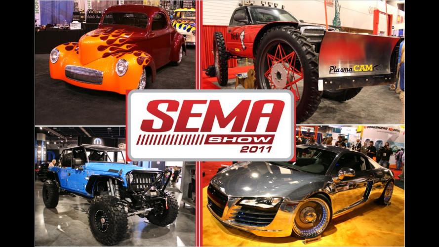 SEMA Show 2011: Das Abgefahrenste aus Las Vegas