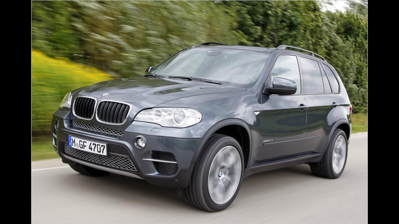 Platz 3: BMW X5/X6 3.0sd