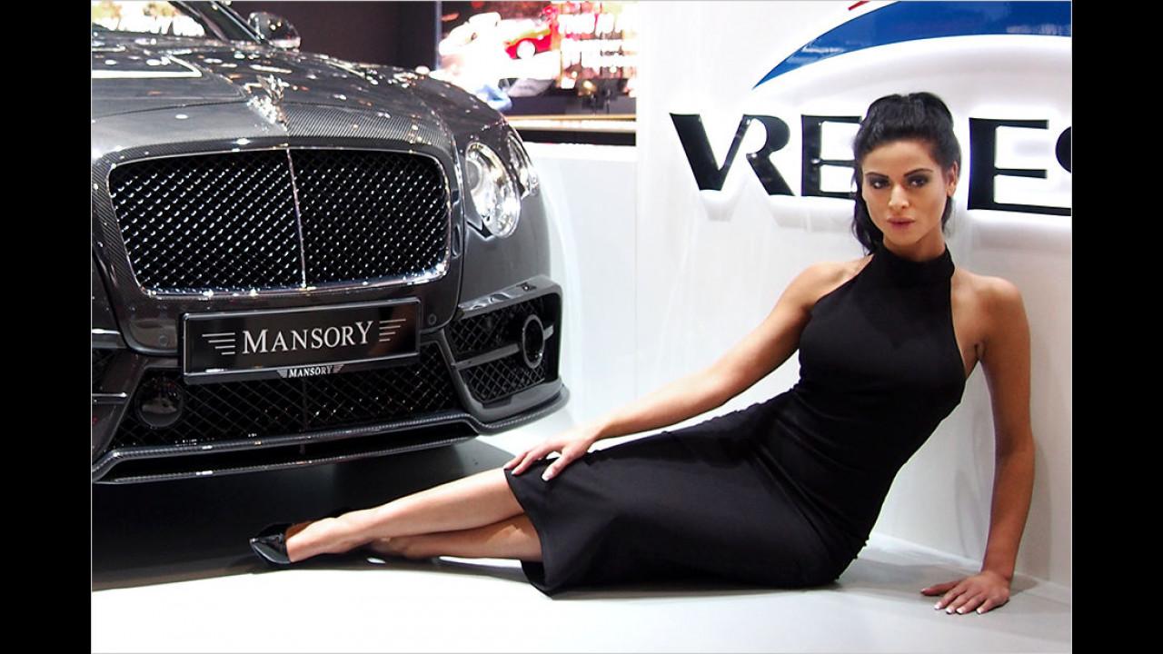 Bentley und Mansory: Eine Kombination, bei der jede Frau zu Boden sinkt ...