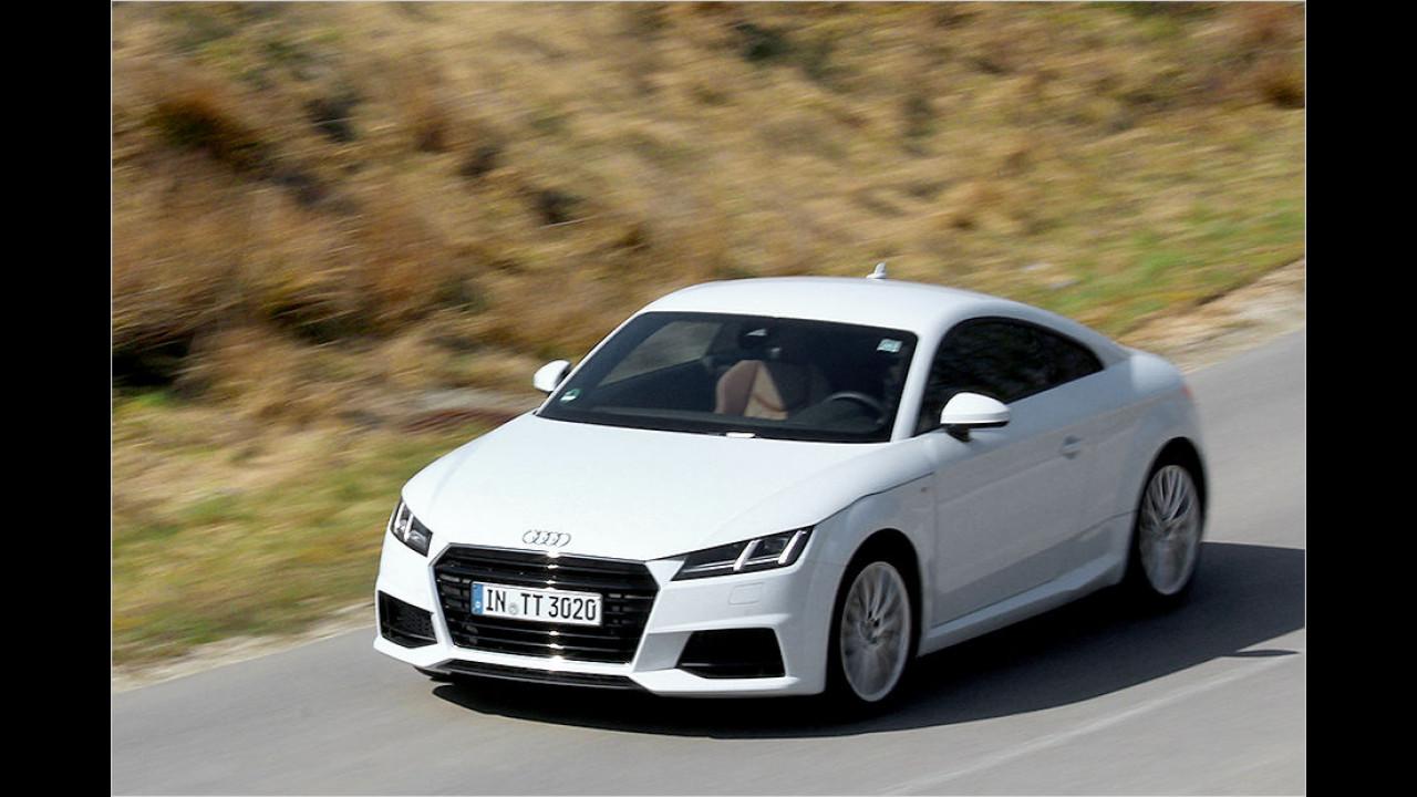 Sportwagen, Platz 1: Audi TT (4.842 Stück)
