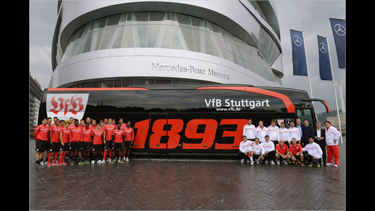 VfB Stuttgart: Mercedes