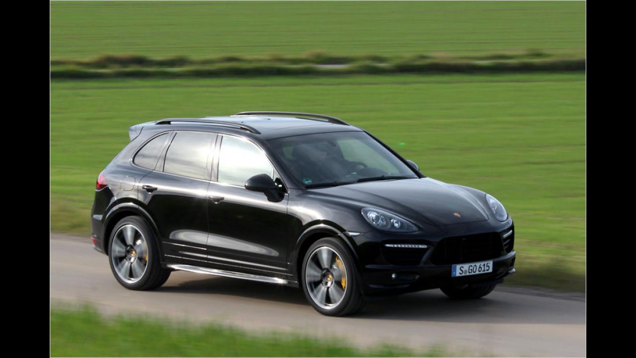 Platz 8: 420 PS im Porsche Cayenne GTS