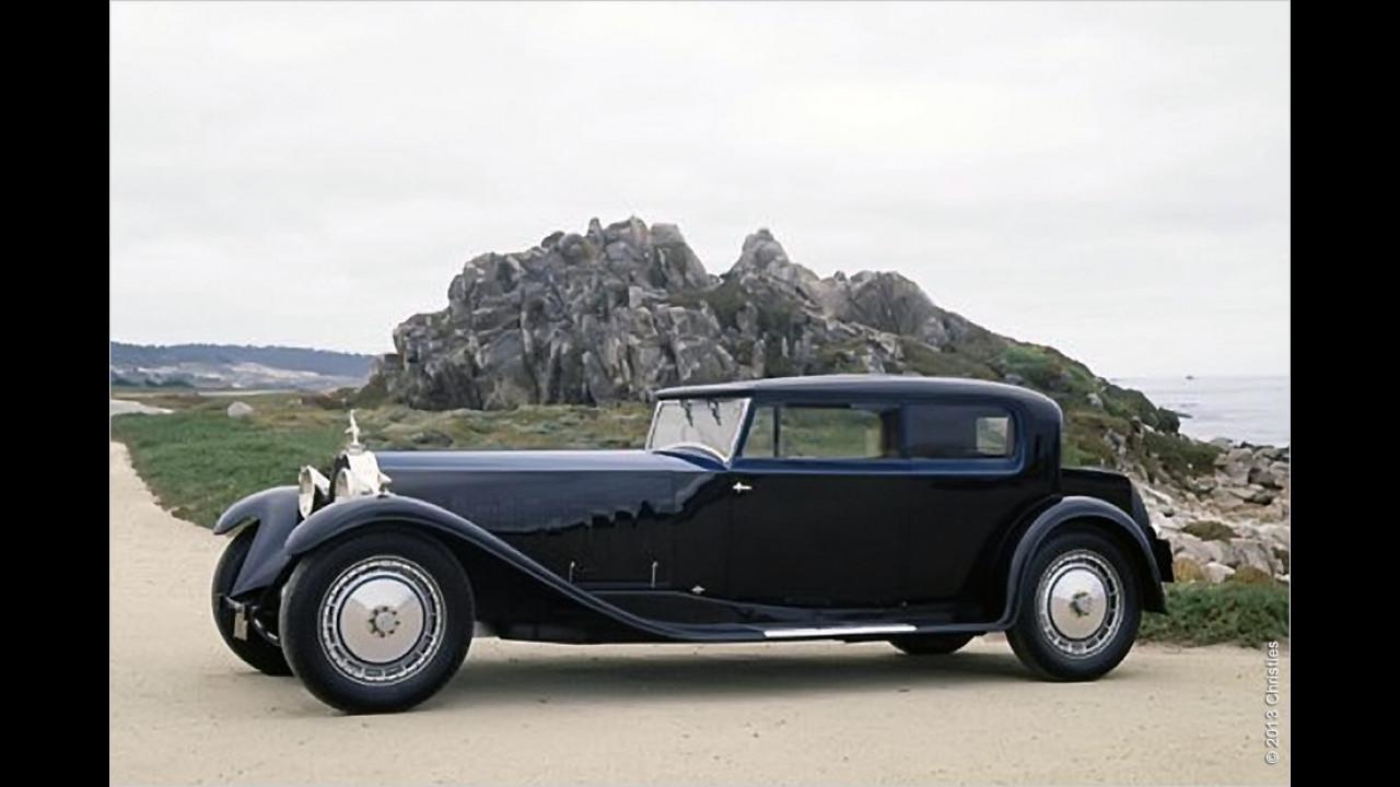 Platz 10: Bugatti Royale Kellner Coupé, Baujahr 1931