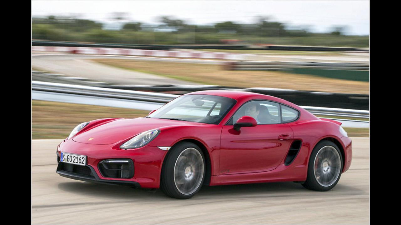Top: Porsche Cayman GTS