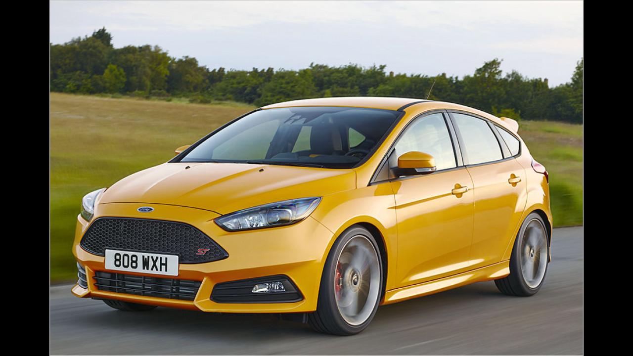 Ford Focus ST: 6,5 Sekunden