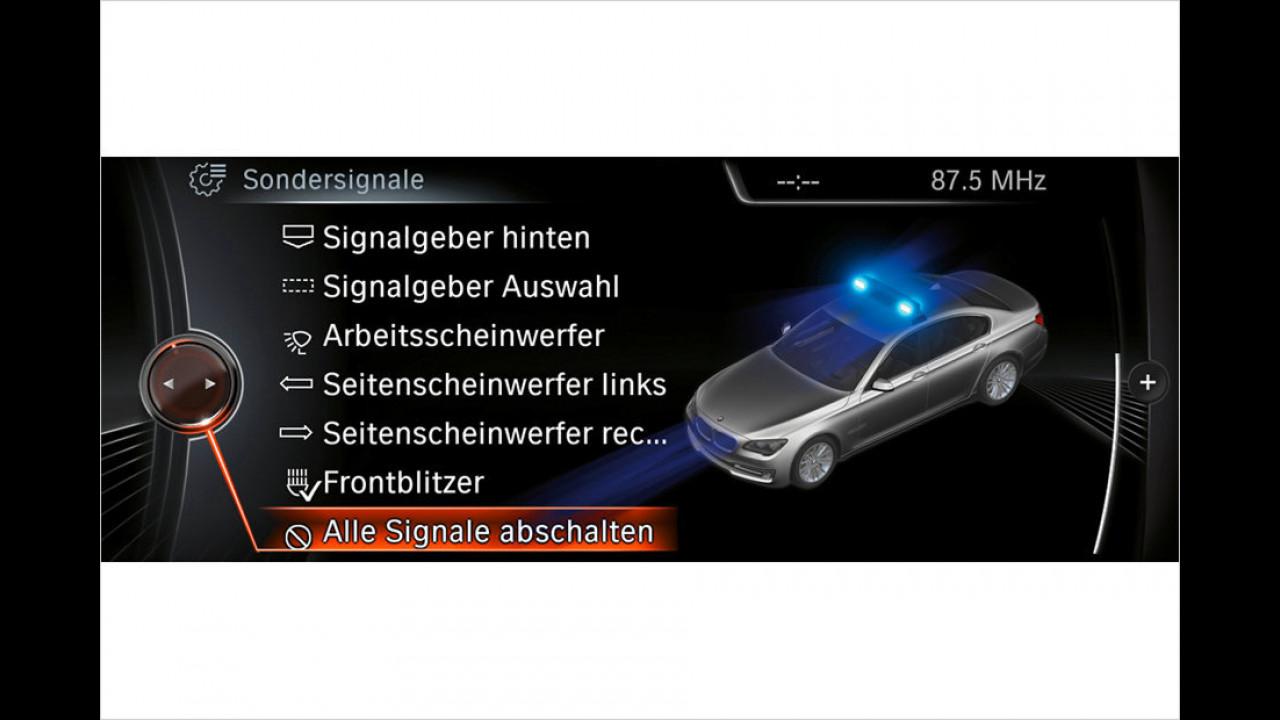 BMW-Einsatzfahrzeuge