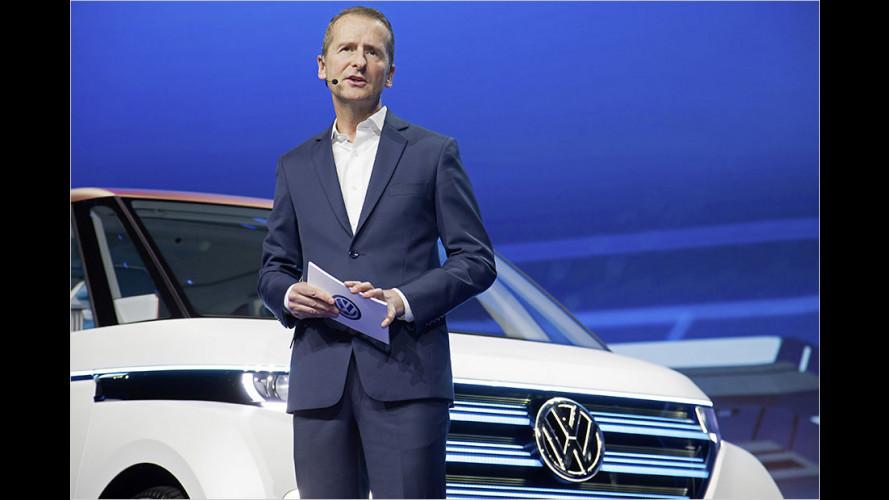 CES 2016: VW zeigt Elektrovan und das neue Golf-Cockpit