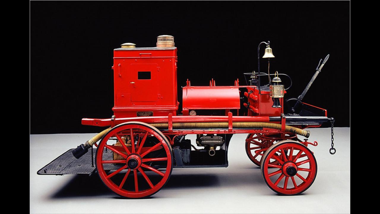 Daimler Motor-Feuerspritze