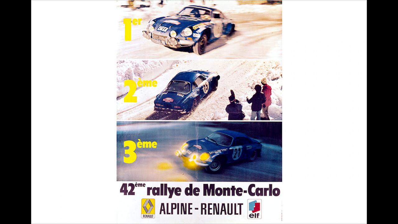 Dreifachsieg 1973 in Monte Carlo