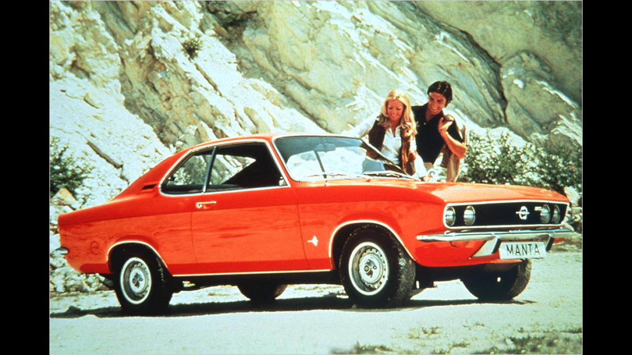 Ford Capri gegen Opel Manta