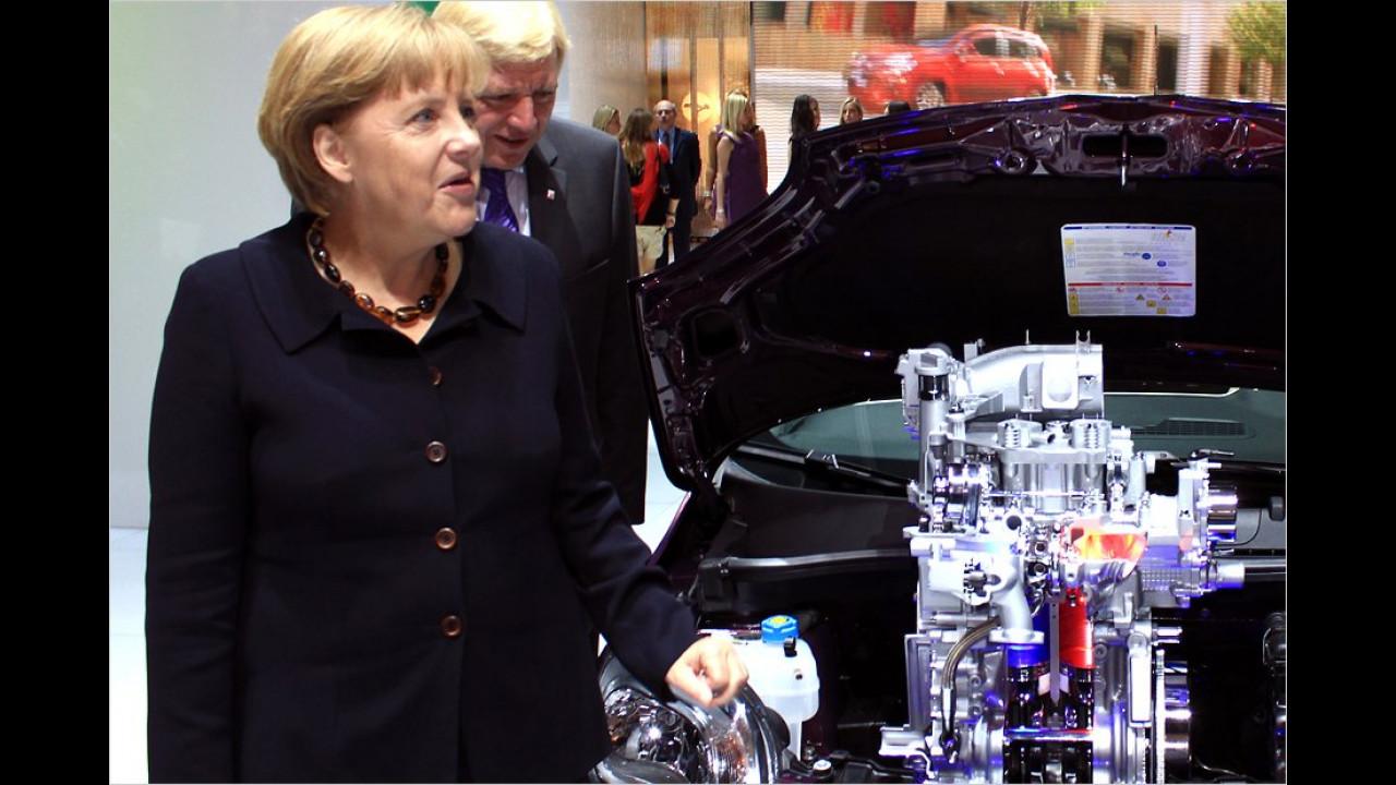 Angela Merkel: Fiat Panda