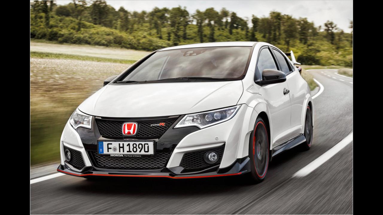 Honda Civic Type-R: 5,7 Sekunden
