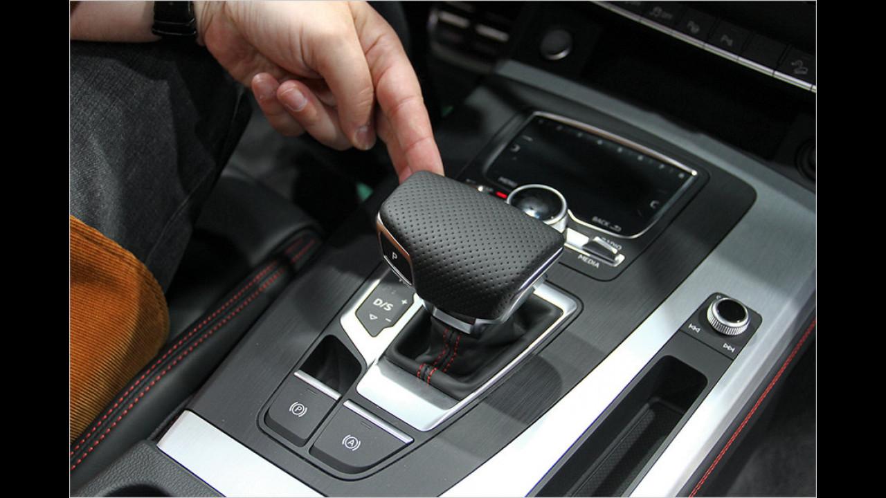 Paris 2016: Sitzprobe im neuen Audi Q5