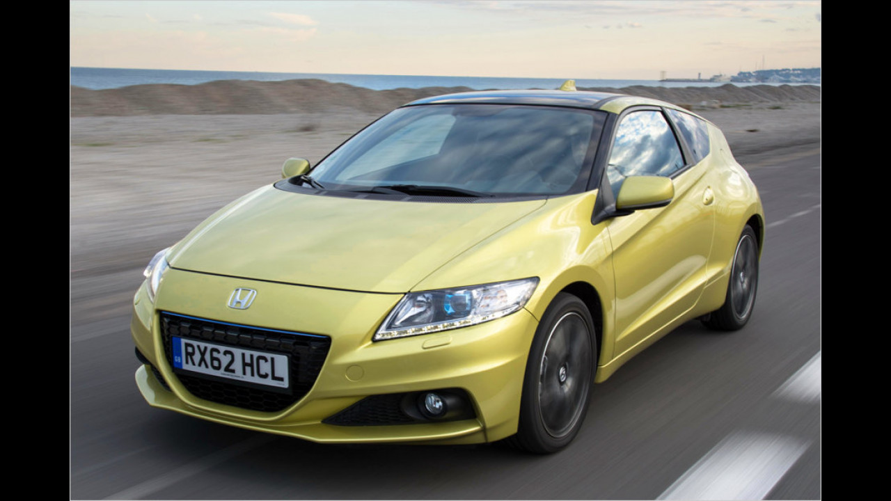 Der Hybridsportler Honda CR-Z wurde 2013 eingestellt. Das Auto kam nur auf 69 Neuzulassungen