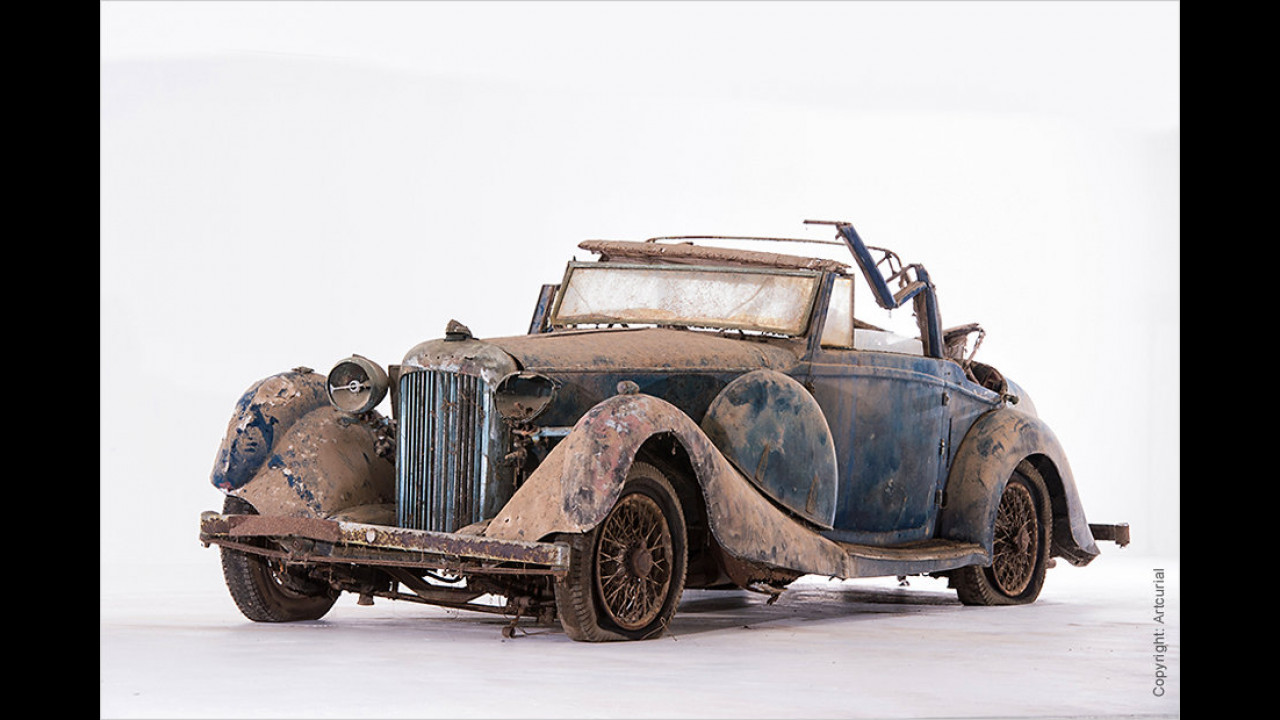 Lagonda LG 45 Cabriolet Viersitzer (ca. 1936)