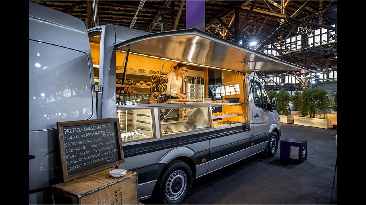 Lebensmittel-Verkaufsmobil von BSK