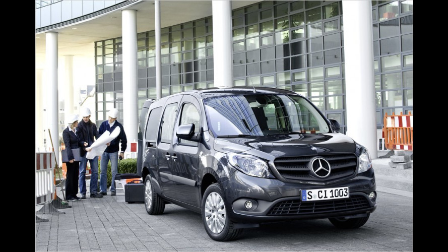 Mercedes stellt Kleintransporter Citan vor