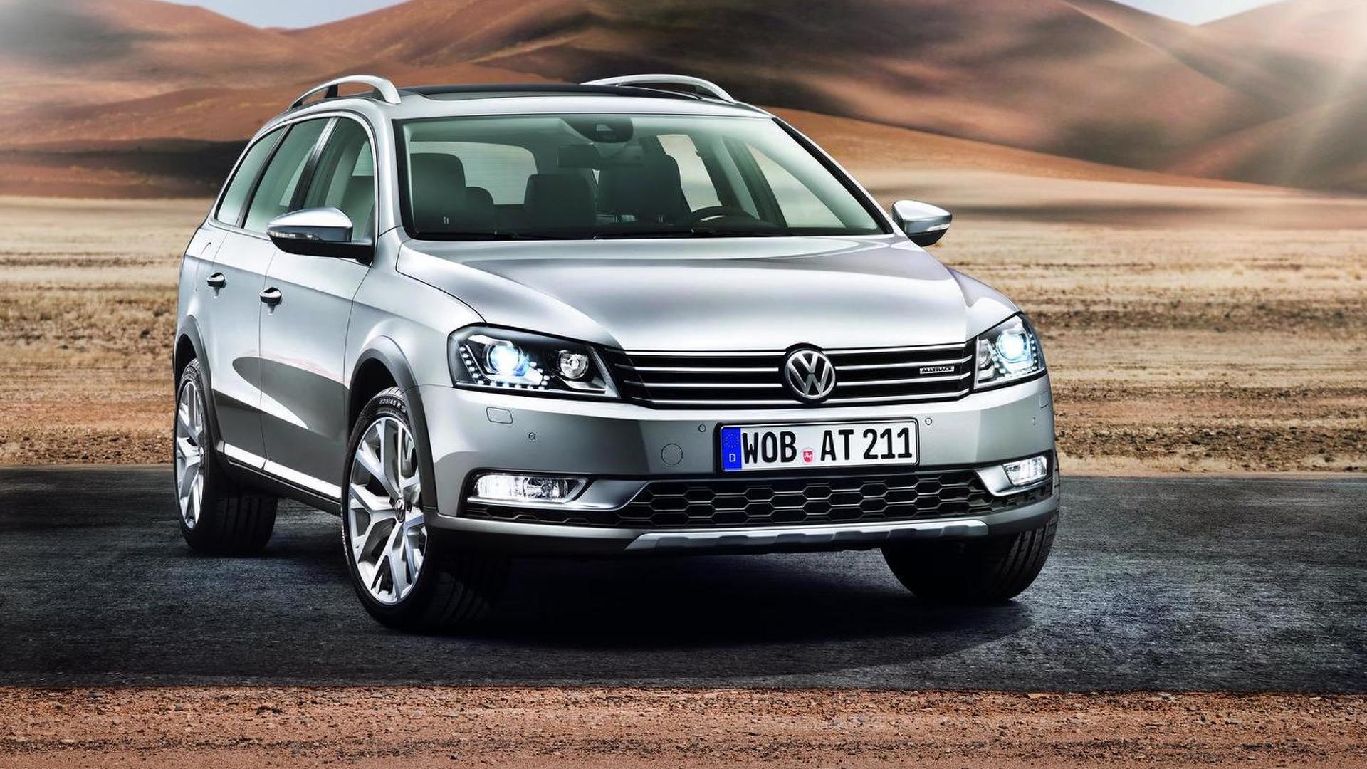 No U S edition for Volkswagen Passat Alltrack