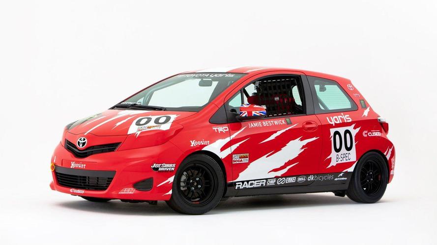 Toyota Yaris B-Spec Club Racer for SEMA 01.11.2011