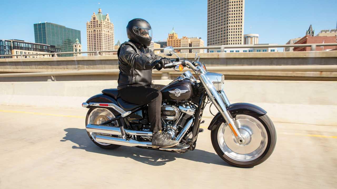 Harley-Davidson Fat Boy 114 2021 - Movimento