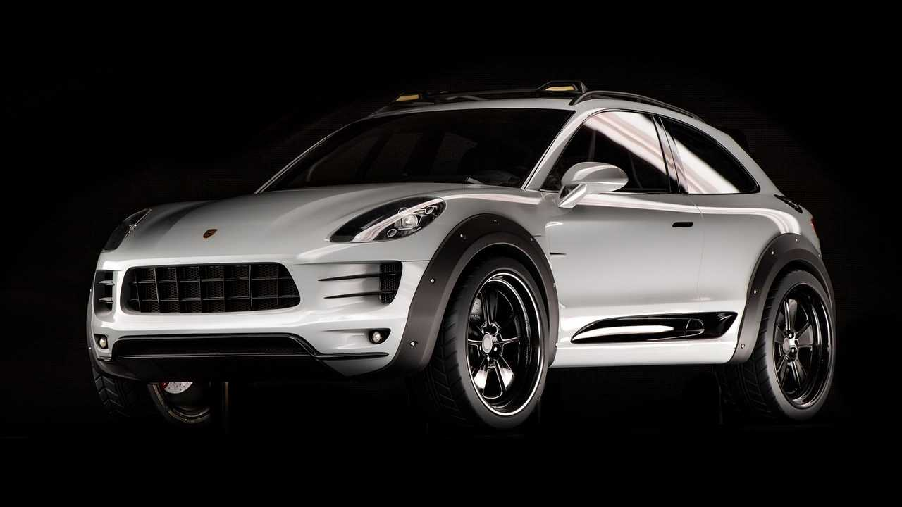 Porsche Macan Vision Safari (2013)