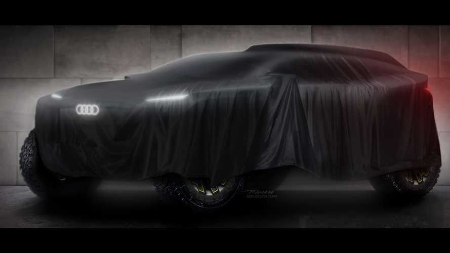 Audi elettrifica la Dakar (e Le Mans) con dei prototipi ibridi estremi
