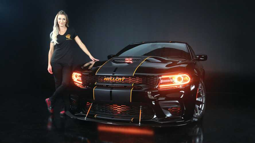 Hurry! Enter Now To Win This 200-MPH Dodge Charger Hellcat Widebody