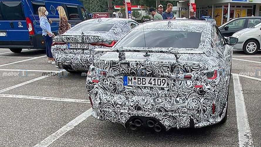 Hotter BMW M4 Spied Boasting Big Rear Wing, Stacked Exhausts