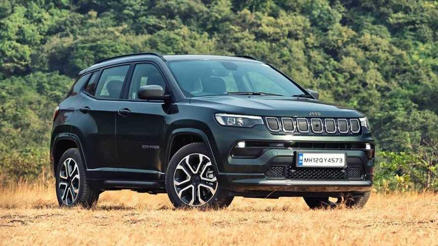Novo Jeep Compass 2022 estreia na Índia e chega ao Brasil ainda no 1º semestre