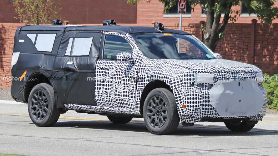 New Ford Maverick Spy Photos Show A Sliding Rear Window