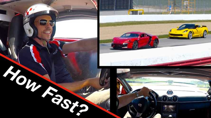 Watch Student-Built Lykan Hypersport Beat On Unsuspecting Sports Cars