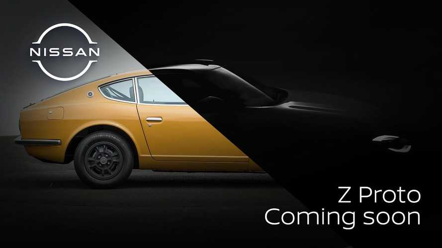 Nissan Z Proto shows retro design cues and a manual gearbox