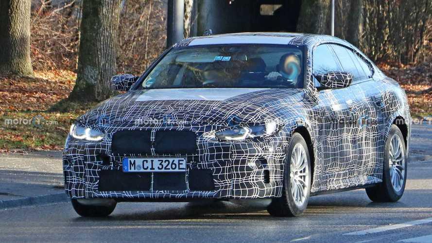 Электромобиль BMW i4 вновь замечен на обычных дорогах (14 фото)